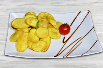 Pizza King 7 - Dollár burgonya chips - Köret - Online order