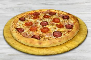 Pizza King 14 - Extrém húsimádó pizza - Prémium pizza - Online rendelés