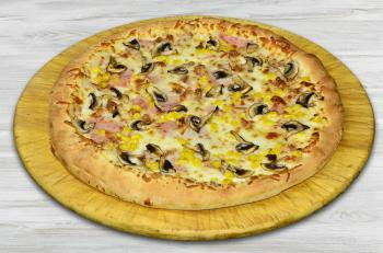 Pizza King 7 - Sonka-Gomba-Kukorica pizza - Pizzas - Online order