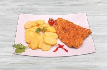 38e5b5b9a8 Pizza King 7 - Szezámmagos rántott csirkemell - Frissensült - Online  rendelés