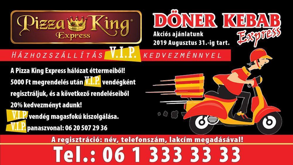 f8c9cb9fe5 Pizza King 7 - Online rendelés - Házhozszállítás